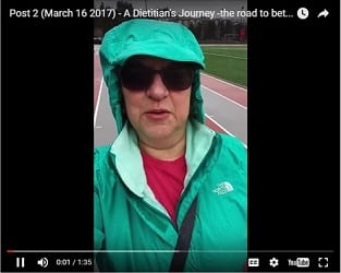 A Dietitian's Journey – the road to better health