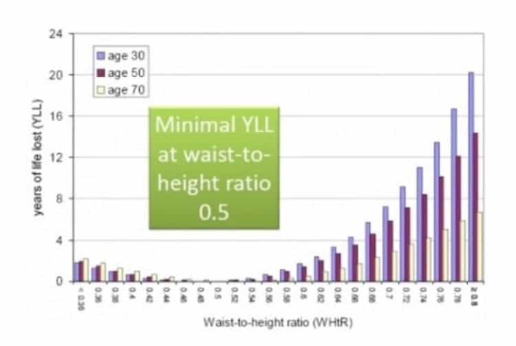 Importance of Waist Circumference & Waist to Height Ratio