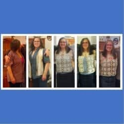 A Dietitian's Journey – two and a half years of change in photos