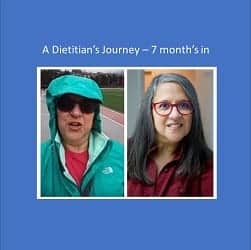 A Dietitian's Journey – Progress not perfection, 7 months in