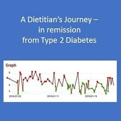 A Dietitian's Journey – remission from Type 2 Diabetes