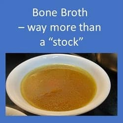 Bone Broth – a rich source of protein and essential amino acids