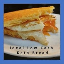 Ideal Low Carb High Fat Keto Bread