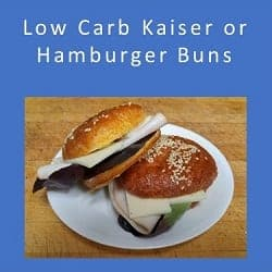 Low Carb Kaiser Buns