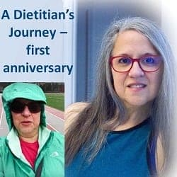 A Dietitian's Journey – first anniversary