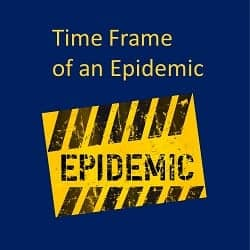 Time Frame of an Epidemic