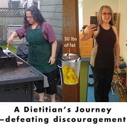 A Dietitian's Journey – defeating discouragement