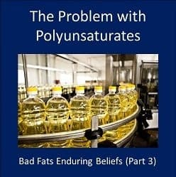 Concerns with Polyunsaturated Vegetable Oils – Part 1