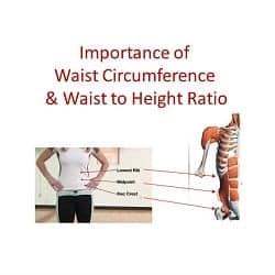 Importance of Waist Circumference & Waist to Height Ratio