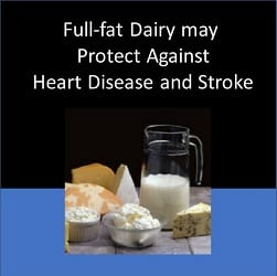 Consumption of Dairy Fat Doesn't Increase the Risk of CVD — may protect