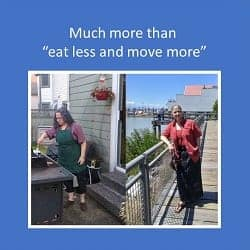 "Much More than ""Eat less and Move More"" – a Dietitian's Journey"
