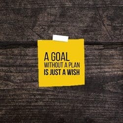 A Goal Without a Plan is a New Year's Resolution