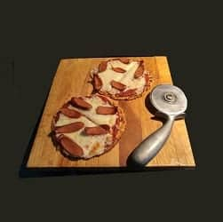 Individual Yeast Raised Low Carb Pizza