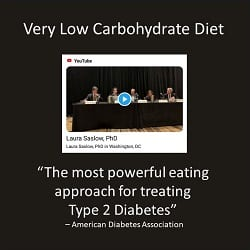 American Diabetes Association: Very Low Carb Diet is the most powerful for treating T2D