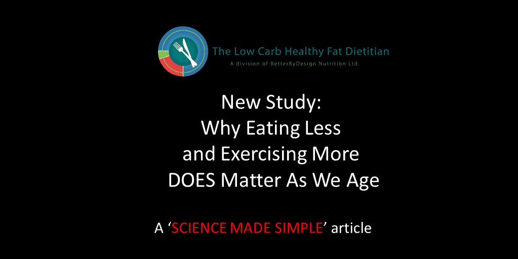 New Study: Why Eating Less and Exercising More Matters As We Age